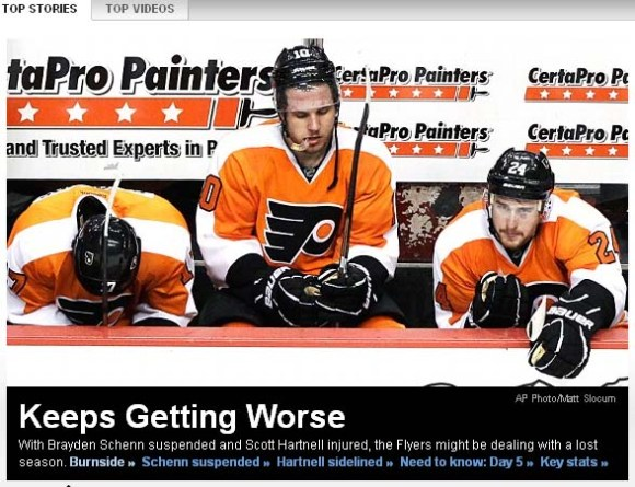 The Flyers Might As Well Forfeit the Rest of the Season